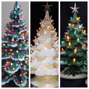 Nostalgic Ceramic Christmas Tree Event