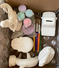 To Go Art Kits available for pickup