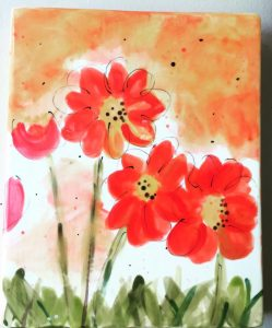 Watercolor Wild Flowers Event