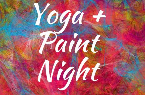 Yoga + Paint Night